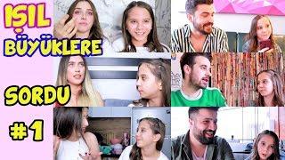 Işıl BÜYÜKLERE SORDU #1 | AŞK NEDİR | NEDEN BOŞANILIR - Eğlenceli Çocuk Videosu