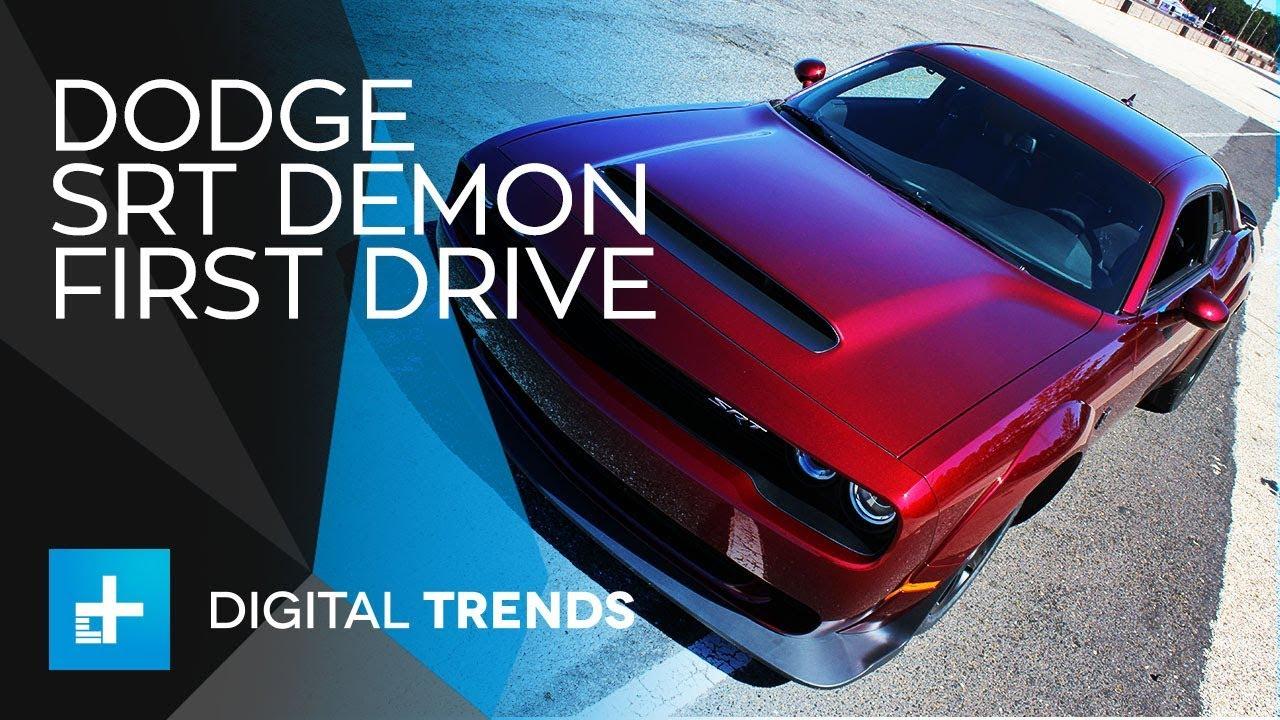 Dodge SRT Challenger Demon – First Drive