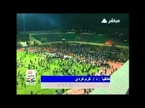 Fans invade Port Said and Cairo football pitches in Egypt