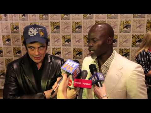Guardians of the Galaxy- Benicio Del Toro & Djimon Hounsou Interview