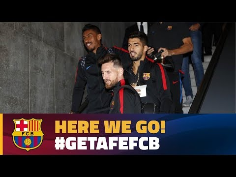 FC Barcelona trip to Madrid for Getafe