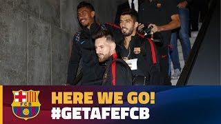 FC Barcelona trip to Madrid for Getafe