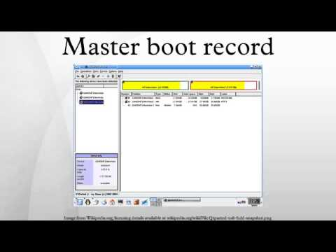 master boot record Master boot record master boot record a master boot record (mbr) is the first sector (sector zero) of a data storage device such as a hard disk.