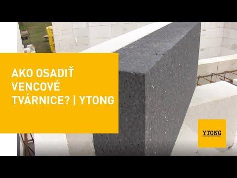 Ako Osadiť Vencové Tvárnice? | Ytong