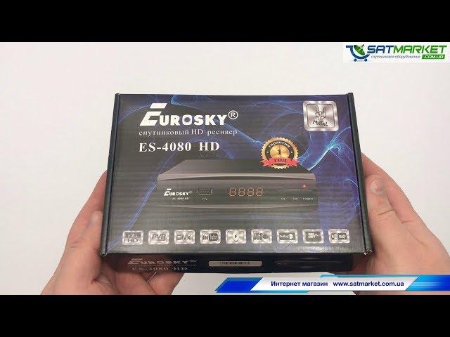 Видео обзор Eurosky 4080 HD