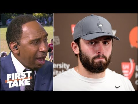 Baker Mayfield will never be Russell Wilson - Stephen A. | First Take