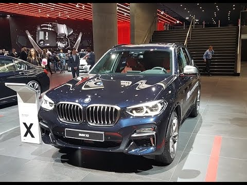 bmw x3 m40i iaa 2017 youtube. Black Bedroom Furniture Sets. Home Design Ideas