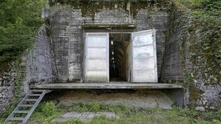 Swiss military bunkers