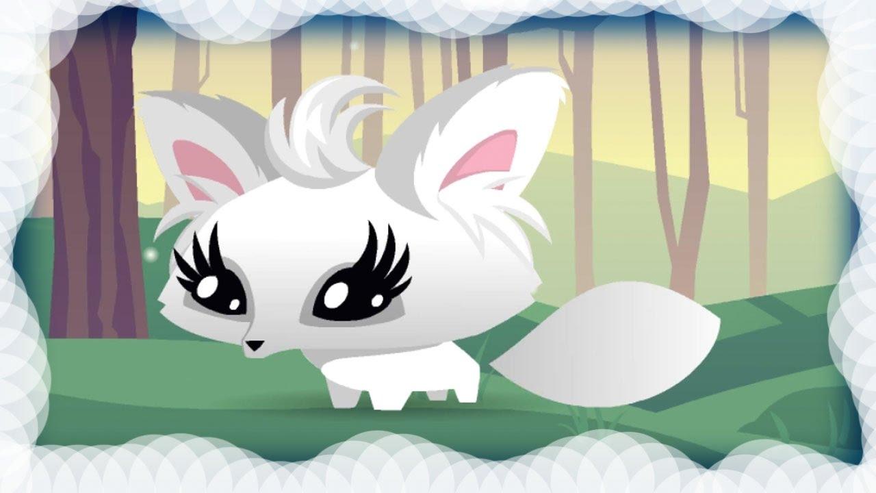 New Arctic Fox Pet Animal Jam - YouTube