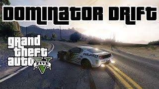 GTA 5 - Dominator Drifting