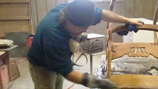 Antique Rocking Chair Refinishing At Timelss Arts Refinishing