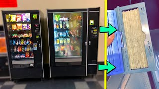 They Bought EVERYTHING From My VENDING MACHINE!