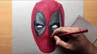 Como Desenhar O Deadpool Realista