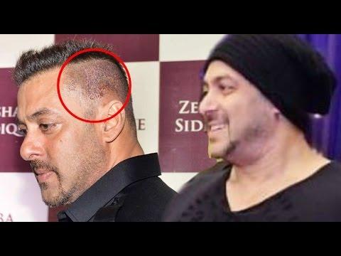 Salman Khan New Look 2016 Went Wrong Hides Head Instead Youtube