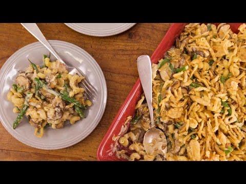 Green Bean And Mushroom Mac Casserole