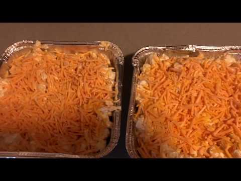 EASY CHEESY POTATO CASSEROLE | SIMPLE THANKSGIVING SIDE DISH | FREEZER PREP FOR THE HOLIDAYS