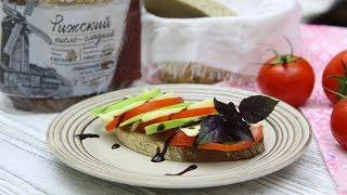 "Свежий бутерброд в стиле ""капрезе"" (с Аладушкин вкуснее)"