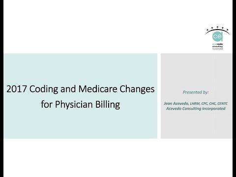 2017 Medicare Changes