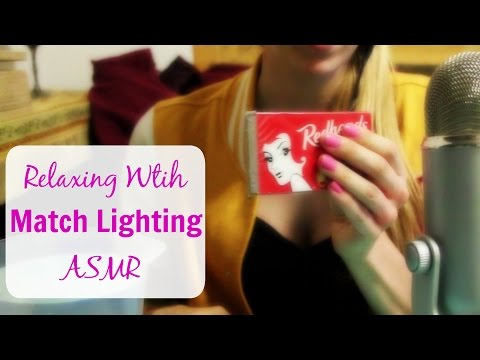 ASMR ~ Long Match Lighting ~ Water Extinguish ~ Blowing Out ~ Ear to Ear Crackling ~ Soft Whispers