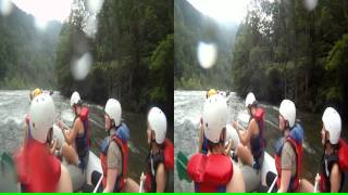 "3D Ocoee River Whitewater Rafting 12 ""Hells Half Mile"" and ""Double Trouble"""