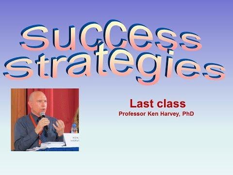 Success Strategies: Last class