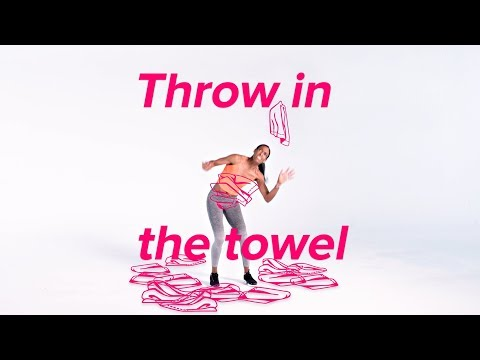 """Sports Idioms """"Throw in the Towel"""""""