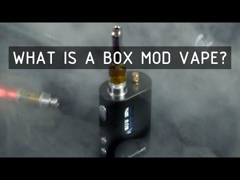 What is a Box Mod Vape? Cannabasics #106