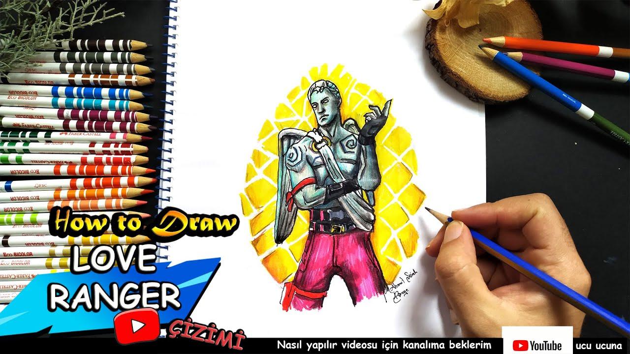 fortnite karekter çizim videoları