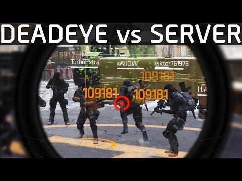 The Division | DeadEye Squadplay vs the Server | Stream Highlights #10