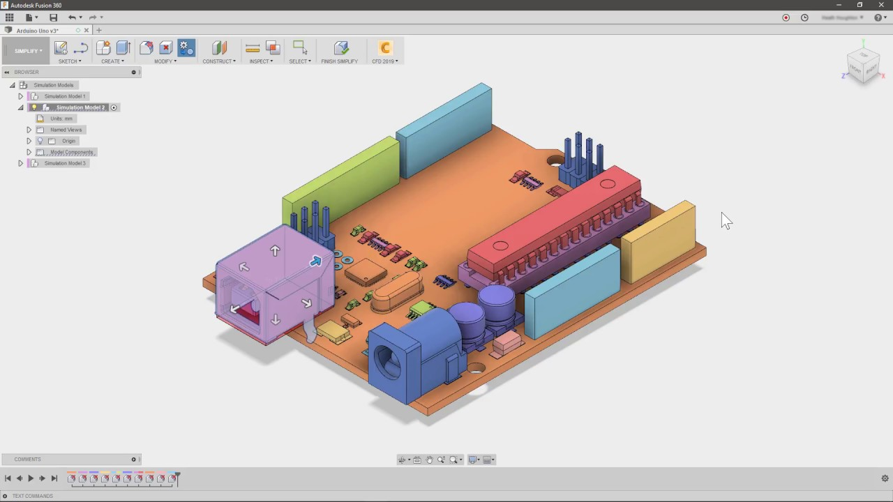 Autodesk CFD: Fusion 360 CAD Simplification