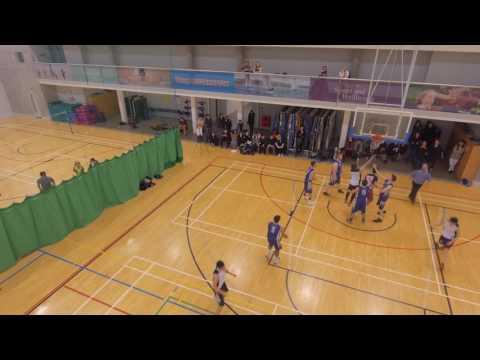 Southampton SNSASN Team v s  Southampton University Team drone footage indoor phantom 4