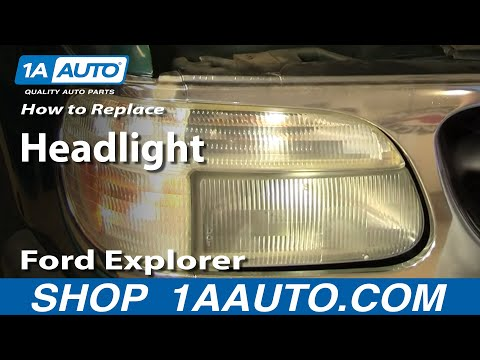 How to Replace Headlight 95-01 Ford Explorer