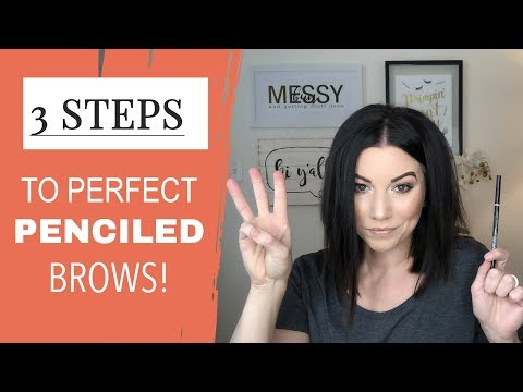 Eyebrow Tutorial: Pencil in eyebrows NATURALLY (3 STEPS!)