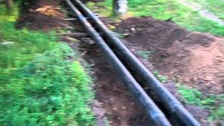 Козлы из Славянск-теплосети решили заменить трубы(Разделили детскую площадку надвое. Никаких ограждений-ленточек., 2011-08-09T15:18:42.000Z)