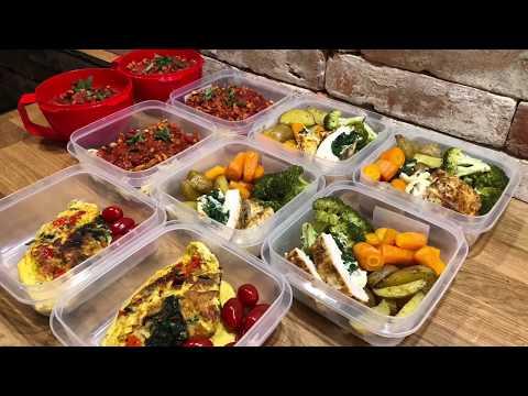 Fit Lunch Box'y/ Zdrowe Dania Na Kilka Dni🥦🥦