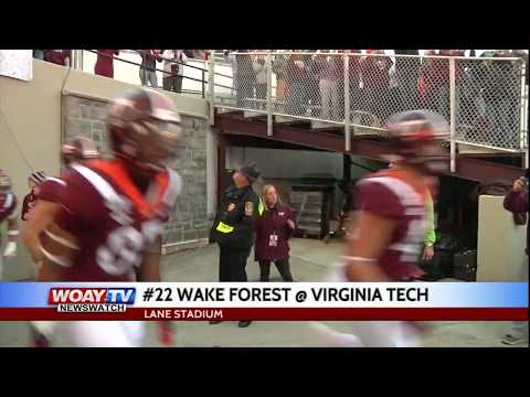 Virginia Tech Honors Bud Foster With Upset Over Wake Forest