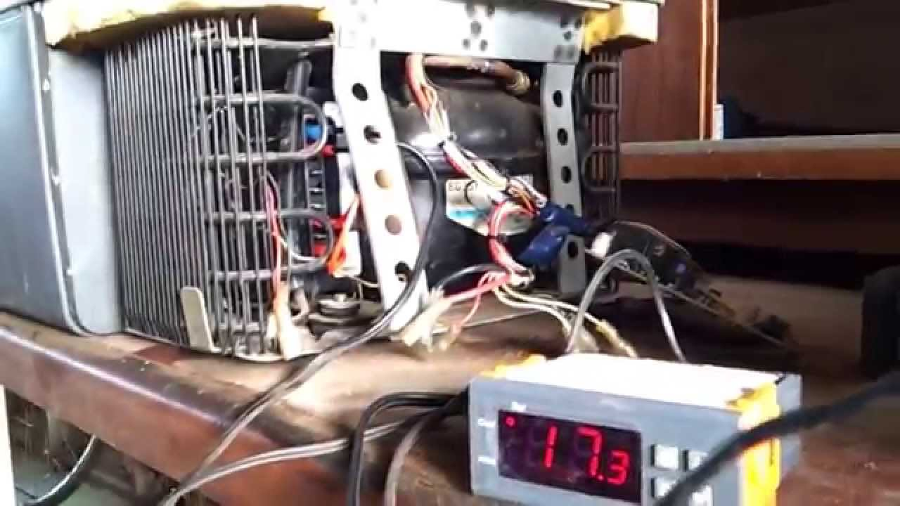 How to fix Waeco CCF 40 or any fridge with danfoss pressor  YouTube