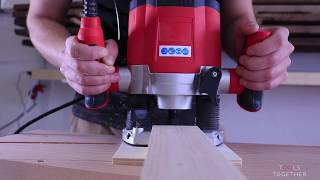 // 3D PUZZLE FURNITURE // Japanese style minimalist clothes rack - woodworking without screws