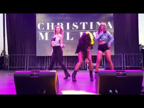 "Christina Milian & Lil' Wayne ""Do It"" LIVE  HOT100"