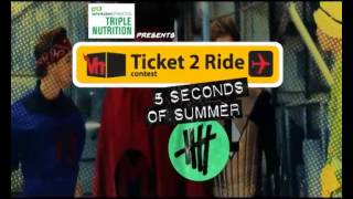 Vh1 Ticket 2 Ride Contest to 5 Seconds Of Summer Derp Con