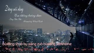 [Vietsub + pinyin] Đừng nói rằng em không buông được - Đồng Khả Khả | ジ別讓我放不下 童可可 by Wind Cold