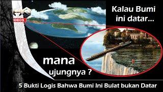 5 Bukti Logis Bahwa Bumi ini Bulat bukan Datar