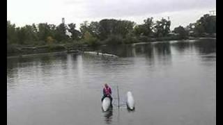 Catamaran capsizing what to do