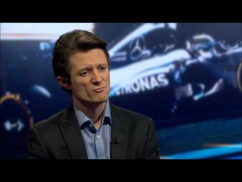 Christian Sylt speaks to BBC Newsnight about Bernie Ecclestone's departure