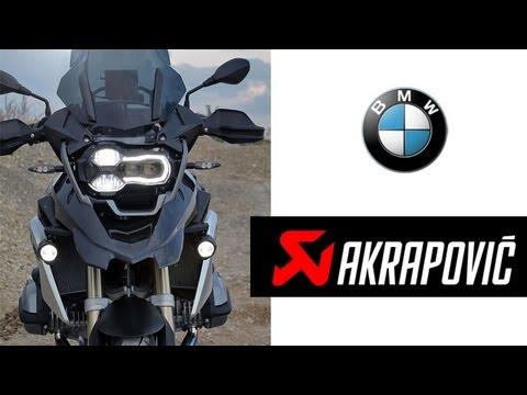 BMW R 1200 GS LC (2013) Akrapovic Sport Exhaust Sound & Acceleration Test