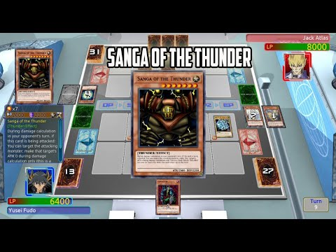 Yu Gi Oh! Legacy of the Duelist - Sanga Of The Thunder |