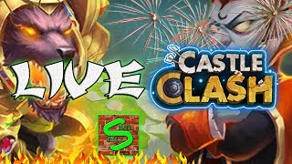 LIVE -War Castle Clash - Attacchi Clash Of Clans - Open 10 casse da 30 Call Of Duty Infinity Warfare