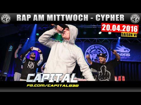 RAP AM MITTWOCH MÜNCHEN: 20.04.16 Die Cypher feat. CAPITAL BRA uvm. (1/4)