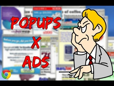How To Block Pop-ups and Ads in Google Chrome - Pop-up Blocker Google Chrome