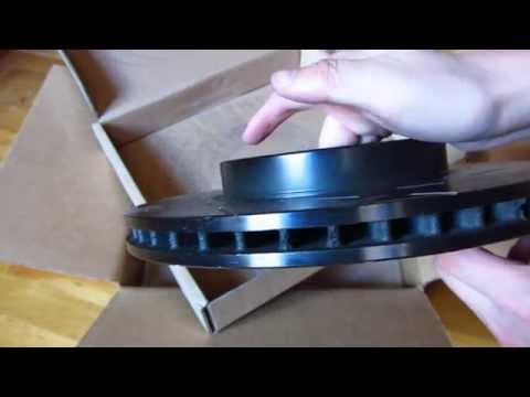 EBC Slotted Rotors Unboxing And Review Part 1 In 1080p